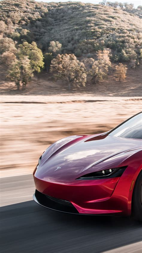 wallpaper tesla roadster electric car  cars bikes