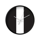 Black and white wall clock ? Latte Design