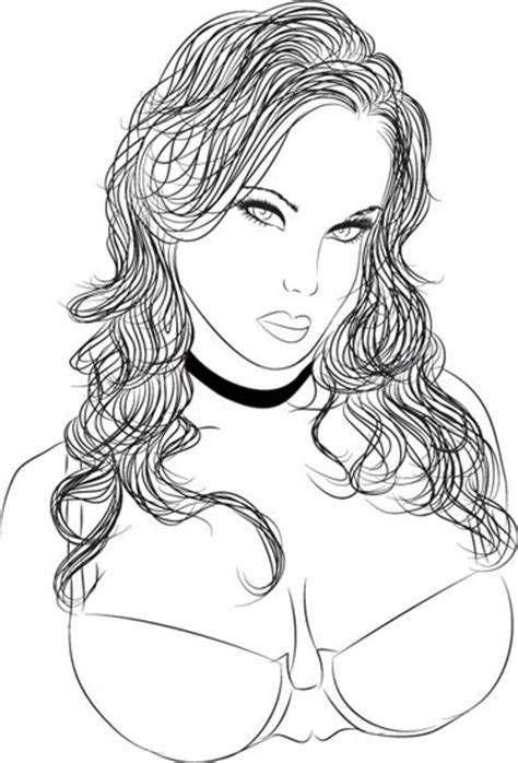 Experiment with deviantart's own digital drawing tools. Vector girls pencil sketches