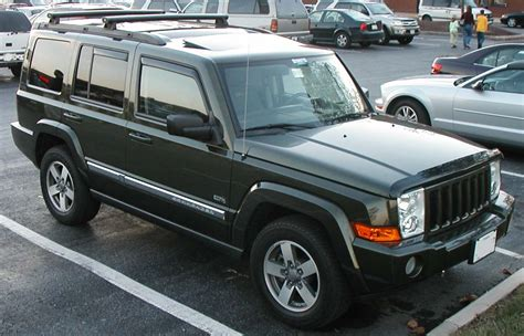 jeep commander vs jeep commander reviews jeep commander car reviews
