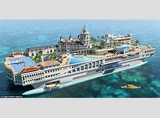 Super yacht designed to mimic billionaires' playground is