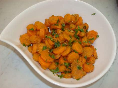 cuisiner des carottes en rondelles carottes glacées recettes cookeo