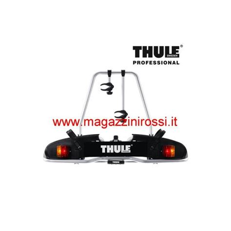 porta biciclette per auto porta biciclette per gancio traino thule europower 916