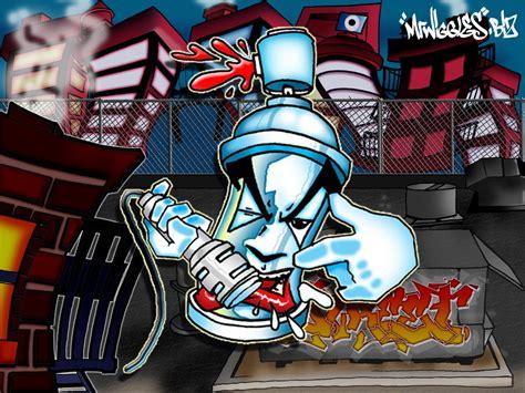 Grafiti Gambar Pilok : Hip Hop Graffiti Wallpaper
