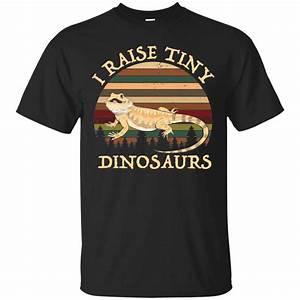 Vintage I Raise Tiny Dinosaurs Bearded Dragon Shirt