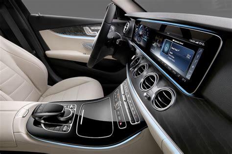 mercedes dashboard 2016 mercedes benz e class interior revealed
