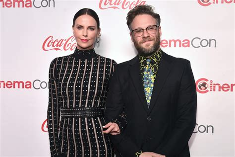 Charlize Theron Made Seth Rogen Step His Fashion Game