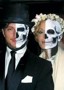 21 Easy Fresh Couple Halloween Makeup Ideas