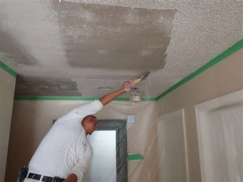 diy popcorn ceiling removal guide homeyou