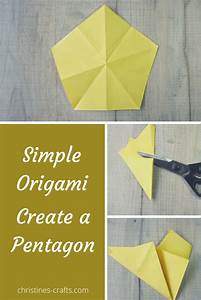 How To Make An Origami Pentagon From A Square Of Paper In