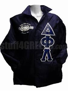 1000 images about delta phi lambda on pinterest gray With custom greek letter jackets