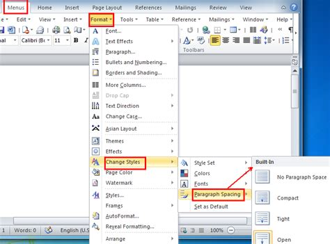 Microsoft Word Spacers by Where Is The Paragraph Spacing In Word 2007 2010 2013