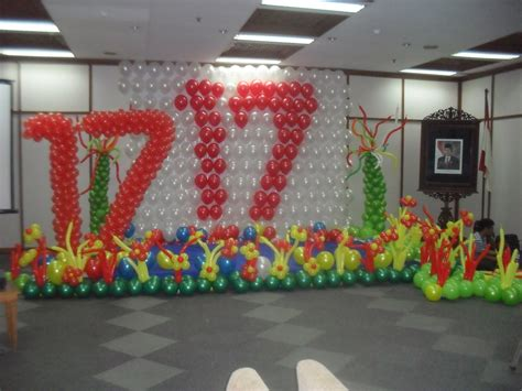 kreasi balon dekorasi balon