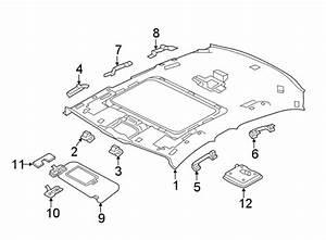 Jaguar Xe Interior Grab Bar  Rear To Vin 950859  Black