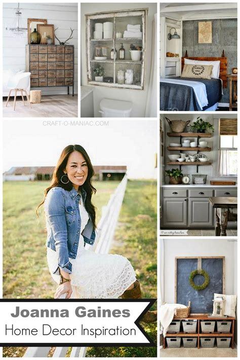 joanna gaines home decor inspiration craft  maniac