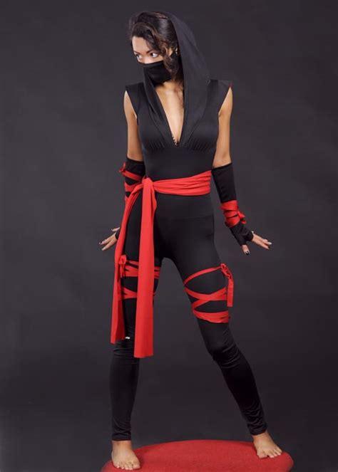Womens Sexy Gothic Ninja Costume