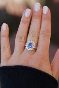 saphire engagement ring sapphire engagement ring blue sapphire 18k white gold