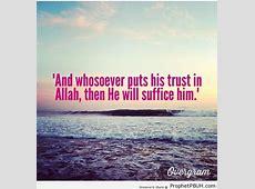 Trust In Allah Quotes QuotesGram