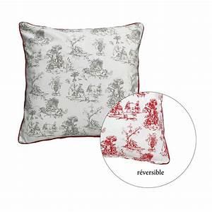 Housse De Coussin 30x30 : housse de coussin en coton et lin 60x60 gris interior 39 s ~ Dailycaller-alerts.com Idées de Décoration