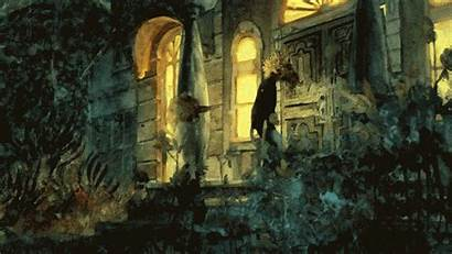 Paintings Animated Watercolor Film Haunted Haunting Painting