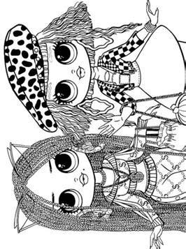 kids  funcom  coloring pages  lol surprise omg dolls
