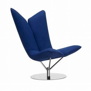 Angel fauteuil salon pivotant design softline for Fauteuil salon pivotant