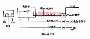The Fault Code 51 And 54 Detection Circuit Of Daewoo