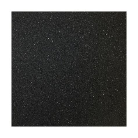 Multy Home 27 in. x 10 ft. x 5 mm Black Rubber Flooring