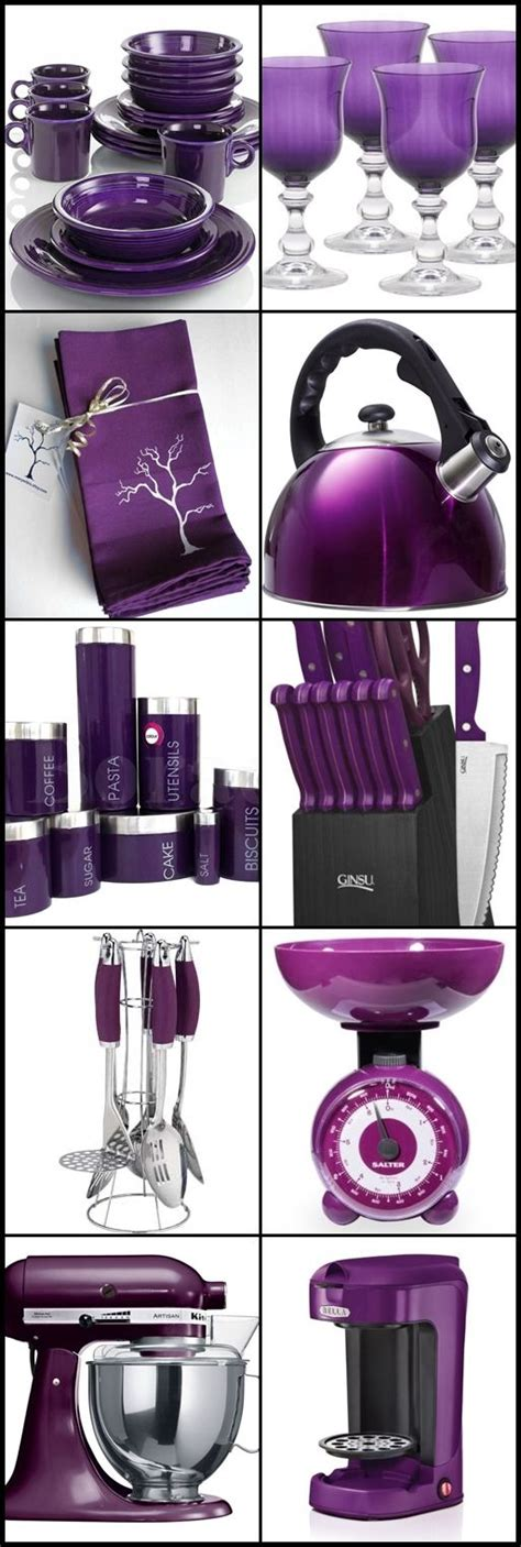 Purple Kitchen Accessories ༻♡༻ ღ☀☀ღ