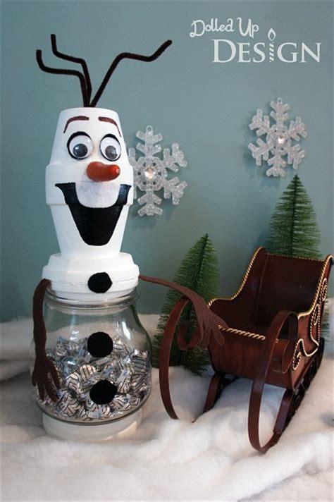 olaf craft     build  snowman