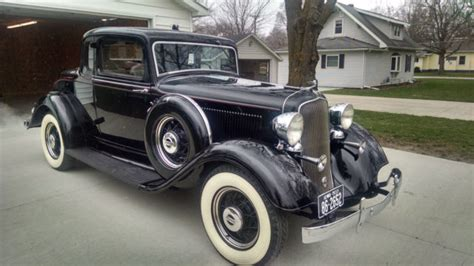 1933 Plymouth Pd Rumble Seat Coupe Dodge Chevy Ford