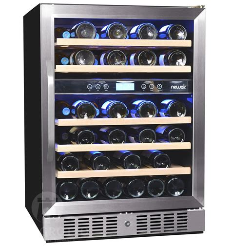newair awr db  bottle compressor wine cooler
