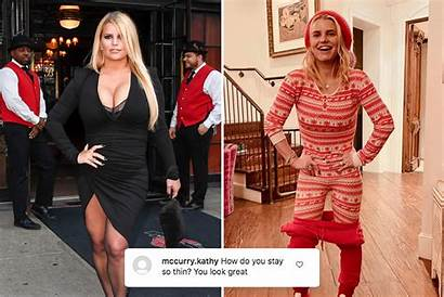 Simpson Jessica Weight Loss Pound Christmas Shows