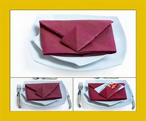 Servietten Falten Tasche : servietten falten ~ Orissabook.com Haus und Dekorationen