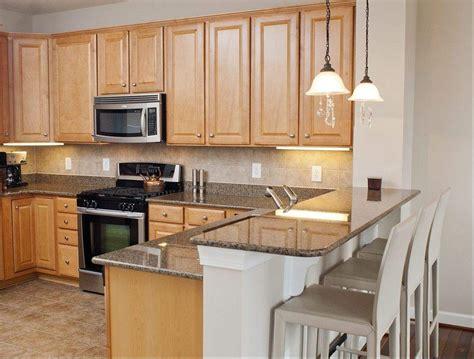 maple kitchen cabinets with quartz countertops maple cabinets and grey granite countertops kitchens