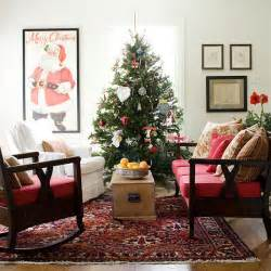 christmas decorating ideas for living room