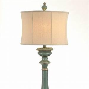 Burks Turquoise Floor Lamp Kirklands