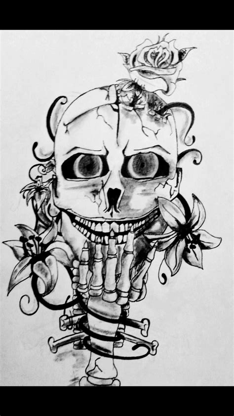 vorlagen totenkopf totenkopf vorlage totenkopf zeichnungen cubito bei kunstnet