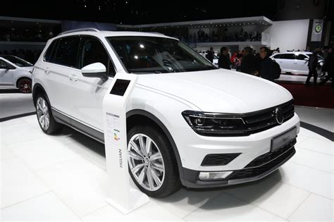 volkswagen tiguan white 2016 volkswagen tiguan and allspace suv all the details the