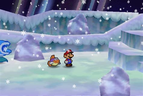 shiver snowfield super mario wiki  mario encyclopedia