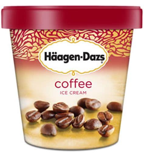 I don't even like ice cream. Caffeine in Cups of Haagen-Dazs Coffee Ice Cream