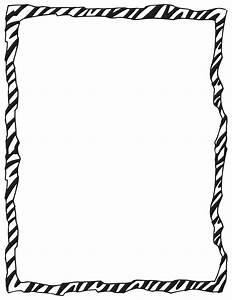 Zebra Print Border - ClipArt Best