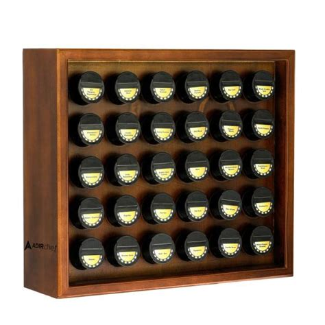 30 Spice Rack by Adirhome 30 4 Oz Jars Walnut Wood Spice Rack 31