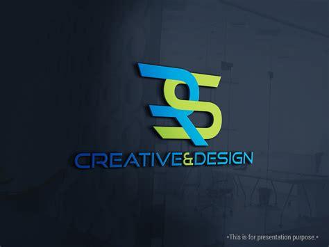 modern professional graphic design logo design  rs