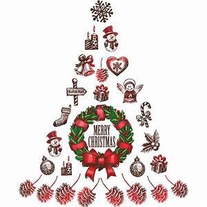 Dessin Sapin De Noel Moderne : sticker no l sapin de no l merry christmas stickers f tes stickers no l ambiance sticker ~ Melissatoandfro.com Idées de Décoration