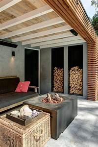 Garten überdachung Holz : garten berdachung sitzecke holz und beton carport pergola pinterest berdachungen ~ Yasmunasinghe.com Haus und Dekorationen