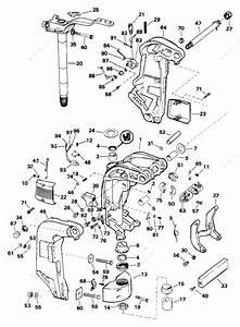 Evinrude 1993 175 - E175exetg  Midsection