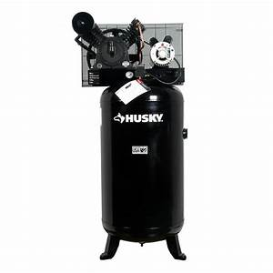 Husky 80 Gal  5 Hp 2-stage Air Compressor-hs5181