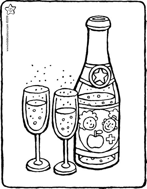 drinks colouring pages kiddicolour