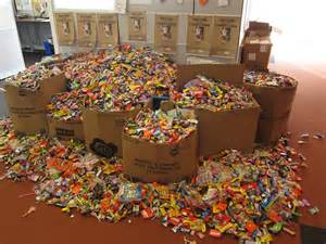 Donate Halloween Candy To Troops by Candy Coma